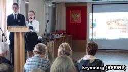 На юбилее краеведческого музея, Севастополь, 14 декабря 2018 года