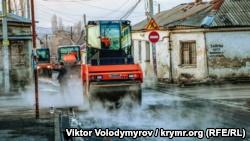 «Крымавтодор» отчитался о строительстве дороги к сельскому детсаду