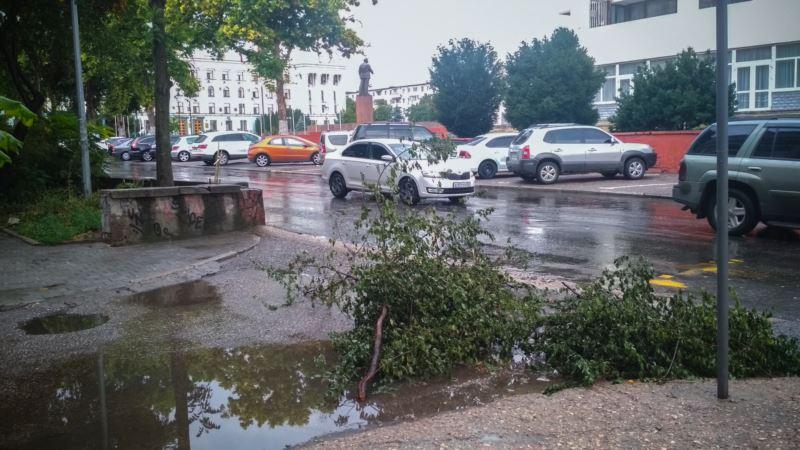Симферополь: синоптики предупреждают о сильном ветре