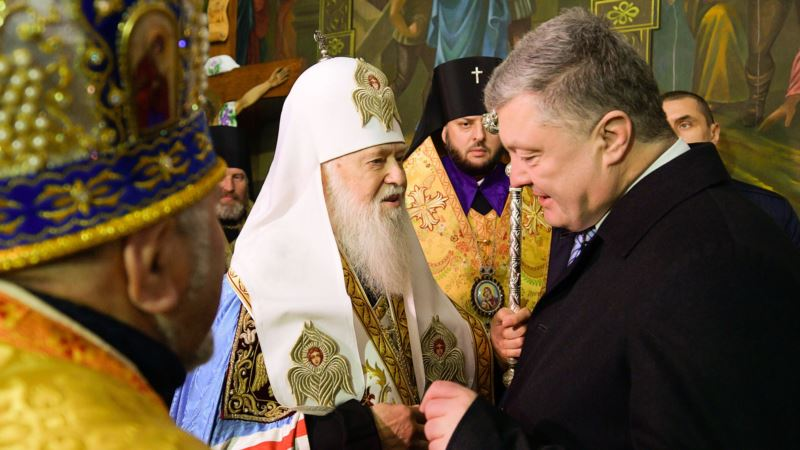 Порошенко решил присвоить Филарету звание «Герой Украины»