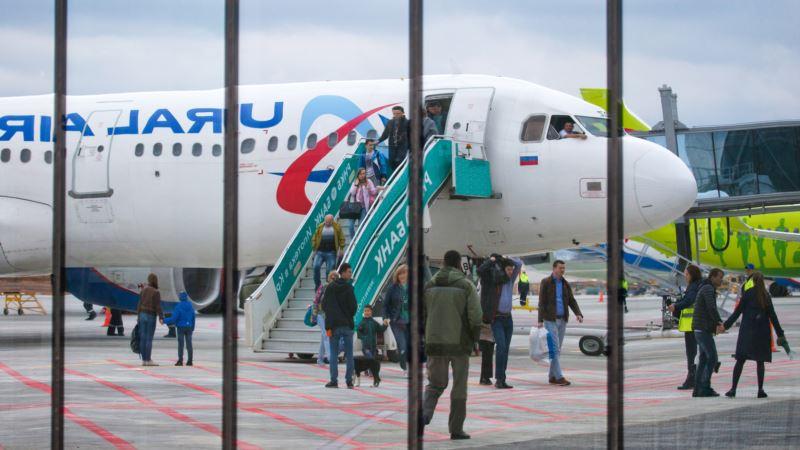 В аэропорту Симферополя задерживают несколько рейсов из-за тумана