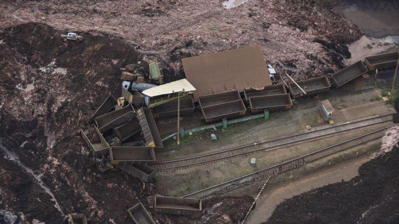Около 200 человек пропали без вести после прорыва дамбы в Бразилии
