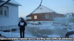 Российский город в Якутии залило фекалиями (+фото)