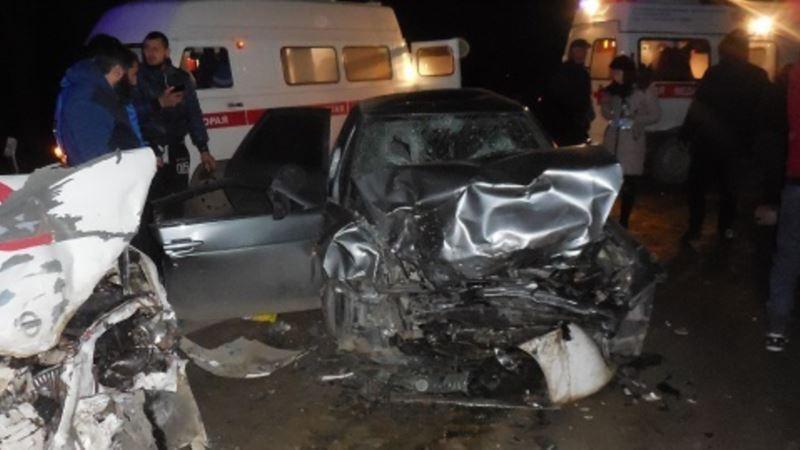 Шестеро человек пострадали в аварии на трассе Бахчисарай-Симферополь (+фото)