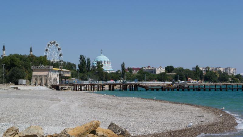 Глава Евпатории сообщил о начале строительства двух пирсов