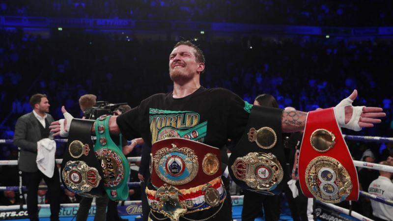 Усик признан боксером года по версии BoxingScene
