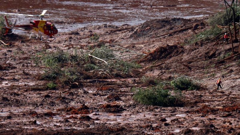 Прорыв плотины в Бразилии: число жертв возросло до 99