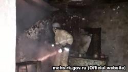В Судаке два человека погибли на пожаре в частном доме – спасатели (+фото)