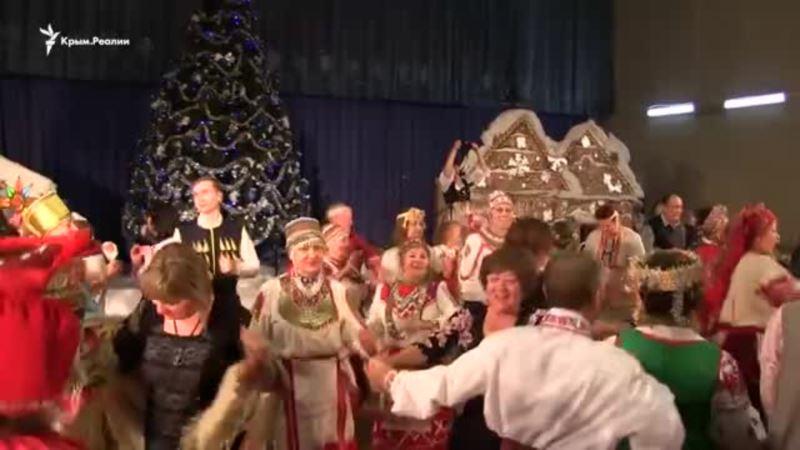 Все танцуют украинскую польку. Праздник народов в Севастополе (видео)