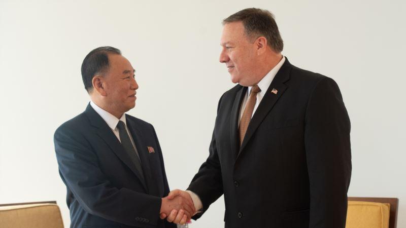 Посланник Ким Чен Ына встречается в Вашингтоне с Помпео и Трампом