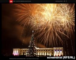 Телеканал CNN убрал из фоторепортажа «российскую» принадлежность Симферополя (+фото)