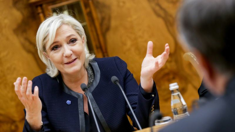 Партия Марин Ле Пен объявила о начале предвыборной кампании