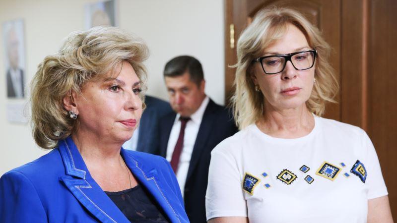 Денисова готова встретиться с Москальковой, чтобы обсудить судьбу Сенцова, Балуха и других политузников