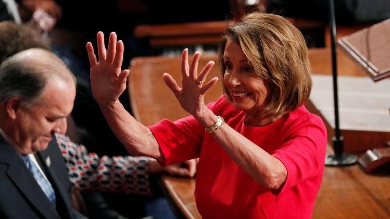 Спикером Конгресса США стала демократ Нэнси Пелоси