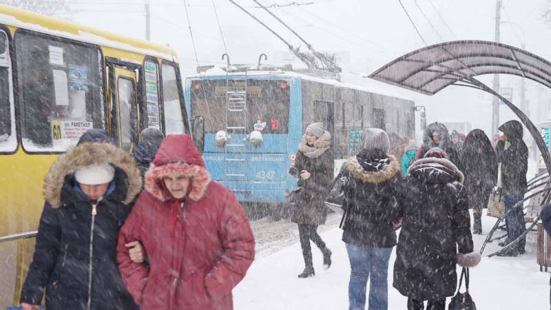 В Крыму предупреждают о резком ухудшении погоды 4 января