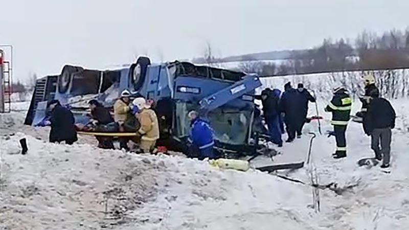 Россия: сегодня в Смоленской области хоронят погибших в ДТП под Калугой
