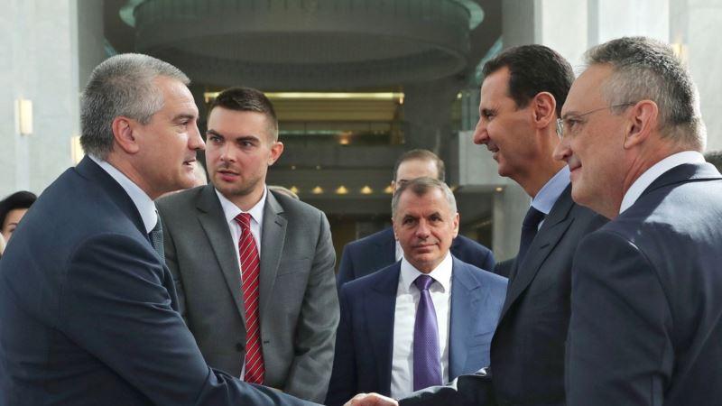 Перевозка грузов между Крымом и Сирией начнется в марте – Аксенов
