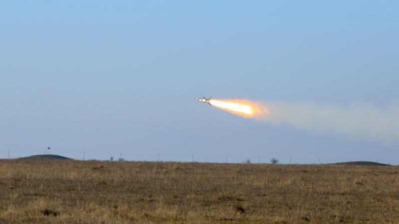 Украинские военные провели испытания зенитно-ракетных комплексов рядом с Крымом (+фото, видео)
