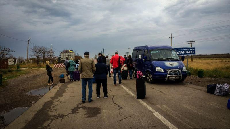 За последний месяц поток граждан в Крым и из него увеличился на 17% – украинское министерство