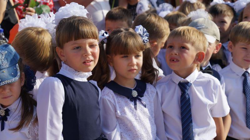 В севастопольских школах украинский язык будут преподавать только в первых классах – власти