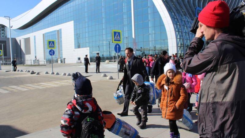 В Крым прибыла группа детей из Башкирии по приглашению Аксенова