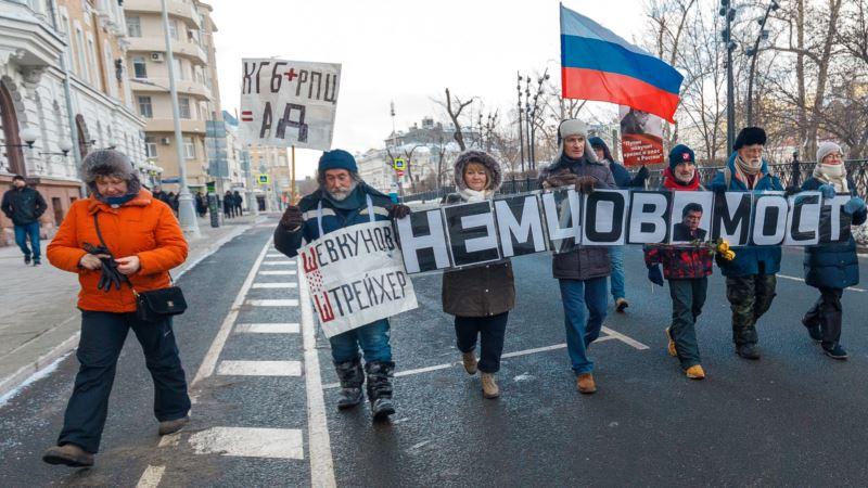 В воскресенье в Москве пройдет марш памяти Бориса Немцова