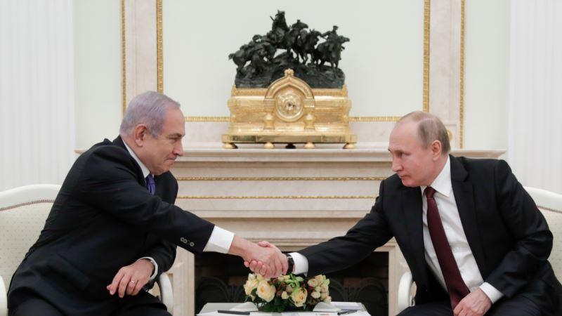 Нетаньяху и Путин обсудили роль Ирана в Сирии