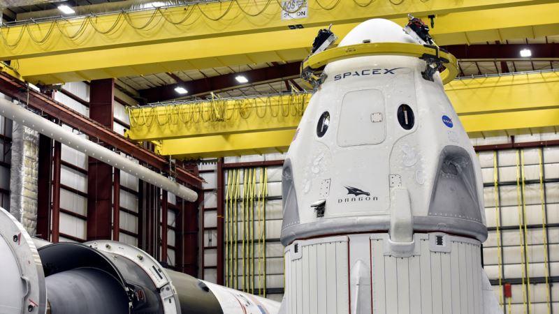 NASA одобрила полет корабля Dragon к МКС без астронавтов