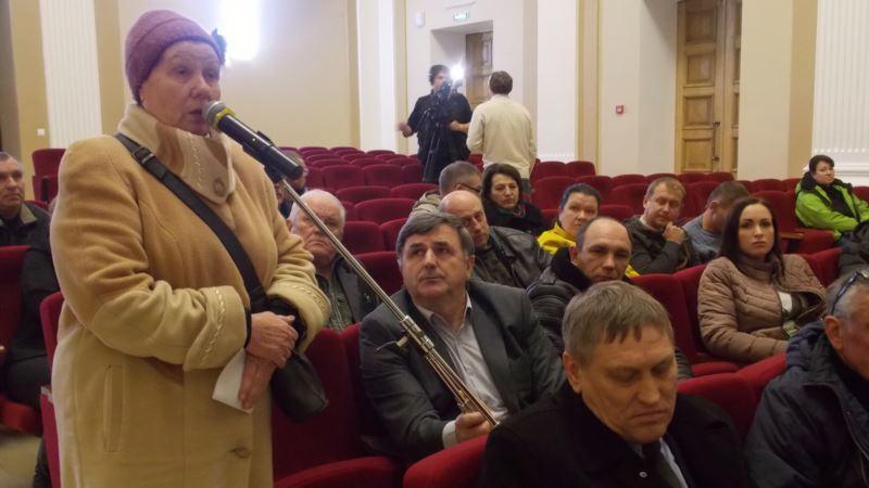 «Жизни пойдут под откос». В Севастополе назвали «антинародным» проект трассы «Таврида»