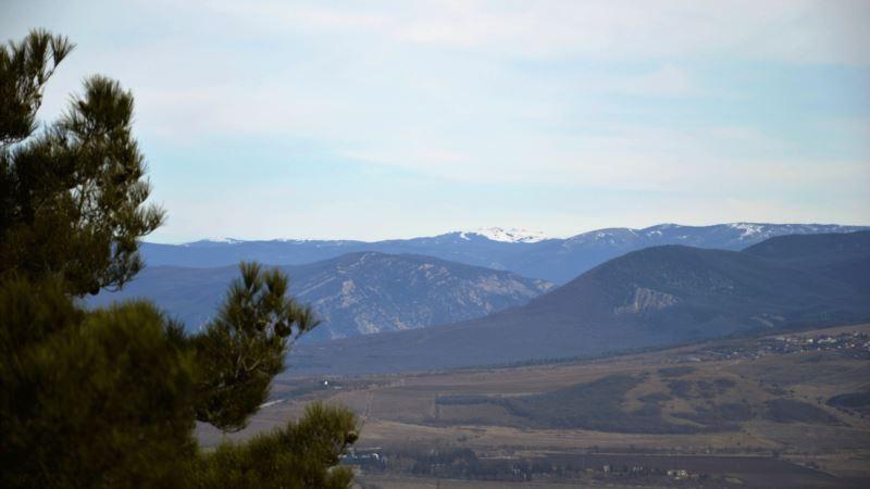 Сапун-гора в начале февраля (фотогалерея)