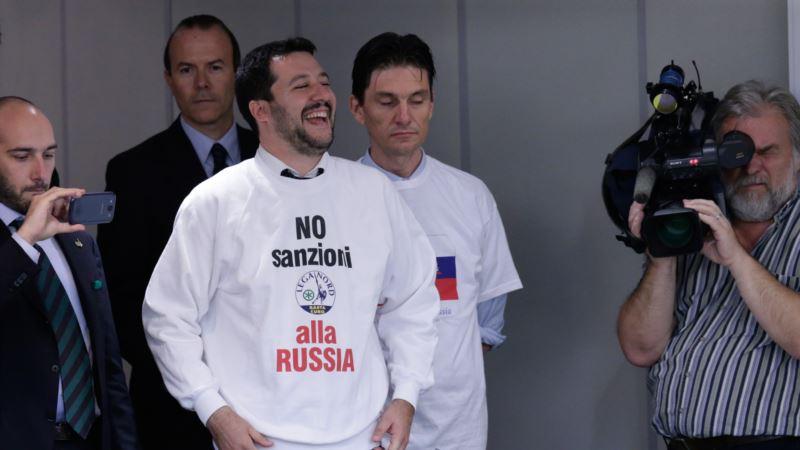 СМИ: вице-премьер Италии, который поддержал аннексию Крыма, просил деньги у Кремля