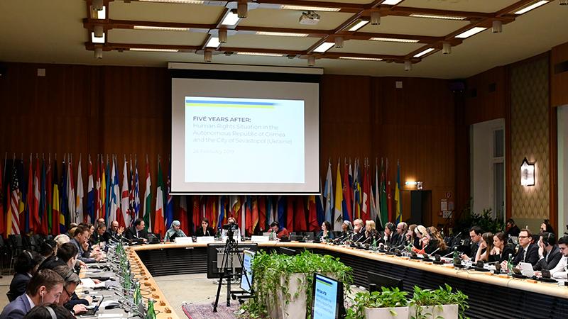 «Пытки и убийства». В Вене в ОБСЕ прошла дискуссия о правах человека в Крыму после 5 лет аннексии