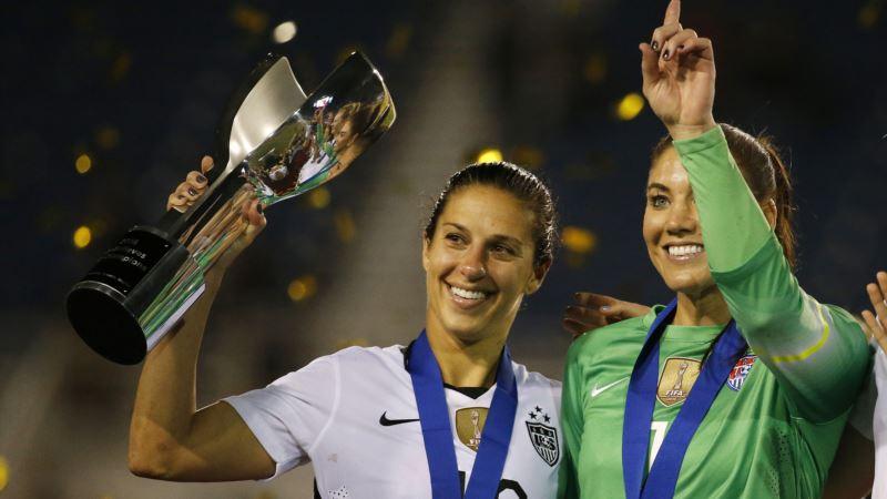 Женская сборная США подала в суд на футбольную федерацию, требуя равных условиях с мужчинами