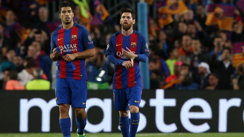 Лига чемпионов: «Барселона» и «Лион» уверенно выходят в четвертьфинал