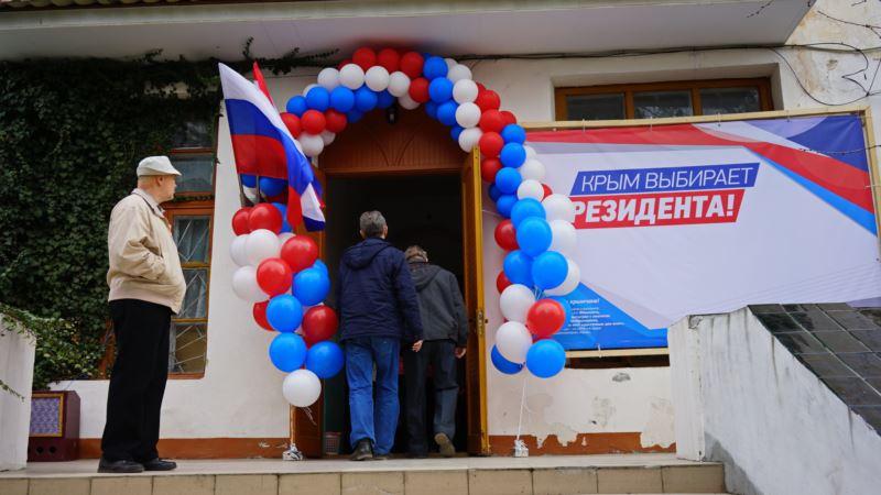 «Наблюдателям» на выборах Путина в Крыму хотят запретить въезд в Украину