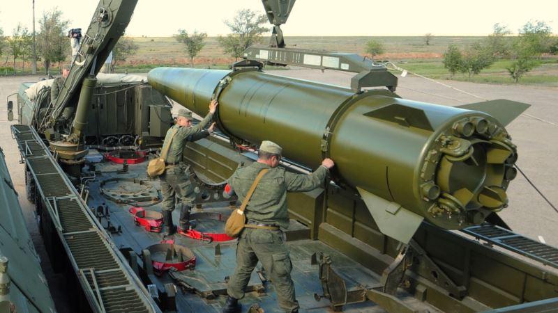 В Крыму российские военные провели стрельбы из «Искандеров» и «Калибров»