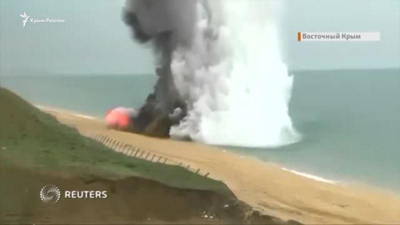 В Крыму прошли масштабные тактические учения (видео)
