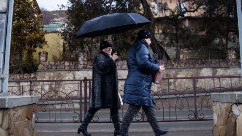 В Крыму синоптики предупреждают о штормовом ветре и сильном дожде