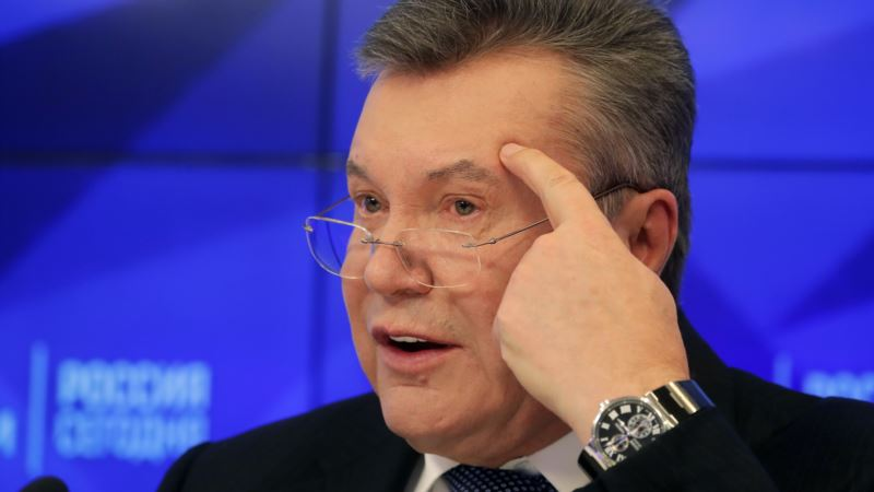 Вступило в силу продление санкций Совета ЕС против Януковича и его окружения