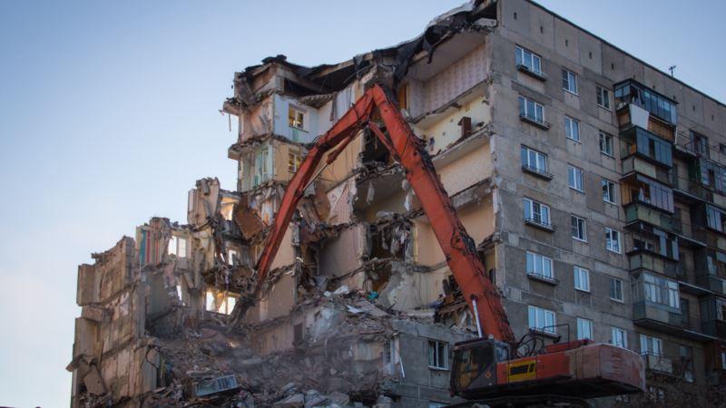 Россия: дом, пострадавший при взрыве в Магнитогорске, признали пригодным для проживания