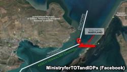 Авария у берегов Крыма произошла из-за обмеления канала после строительства Керченского моста – украинское министерство