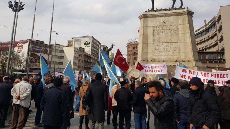 В Анкаре прошел митинг против аннексии Крыма (+фото)