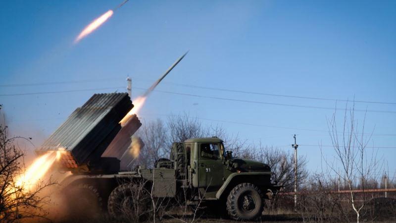 Российские военные стреляют из «Градов» и минометов на полигонах в Крыму