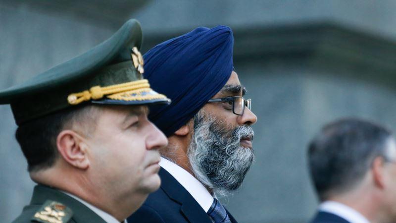 Министр обороны Канады в годовщину аннексии Крыма: «Мы вместе с Украиной против российской агрессии»