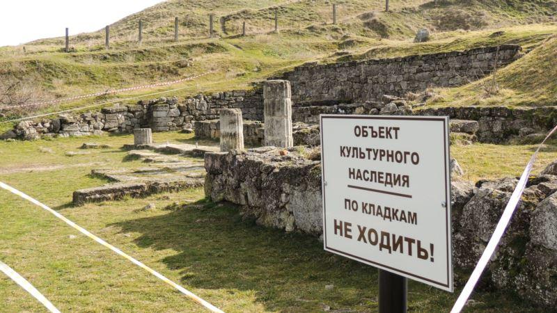 Минкульт и МИД Украины готовят реакцию по состоянию античного Пантикапея в Керчи