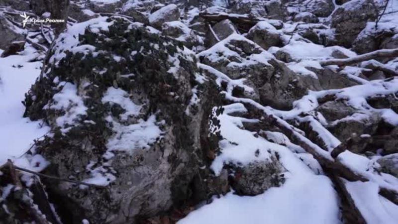 Большой каньон Крыма в начале весны (видео)