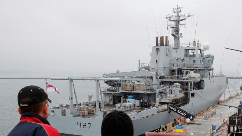 В Босфор вошел британский разведывательный корабль HMS Echo – Клименко