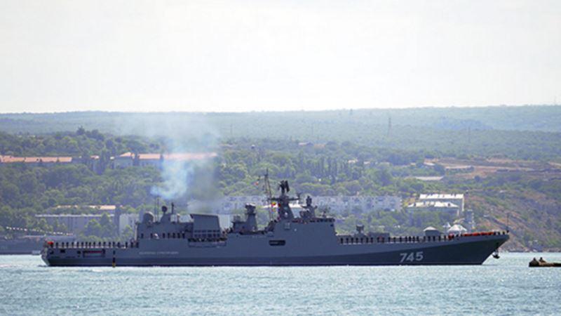Корабль Черноморского флота России «Адмирал Григорович» проведет стрельбы и электронные пуски ракет – СМИ