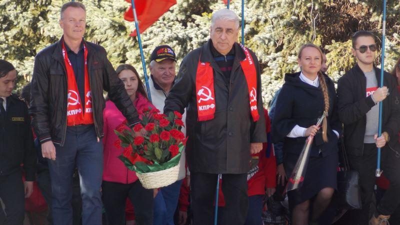 В Севастополе на митинге в честь Ленина говорили о Библии и «советской цивилизации» (+фото)
