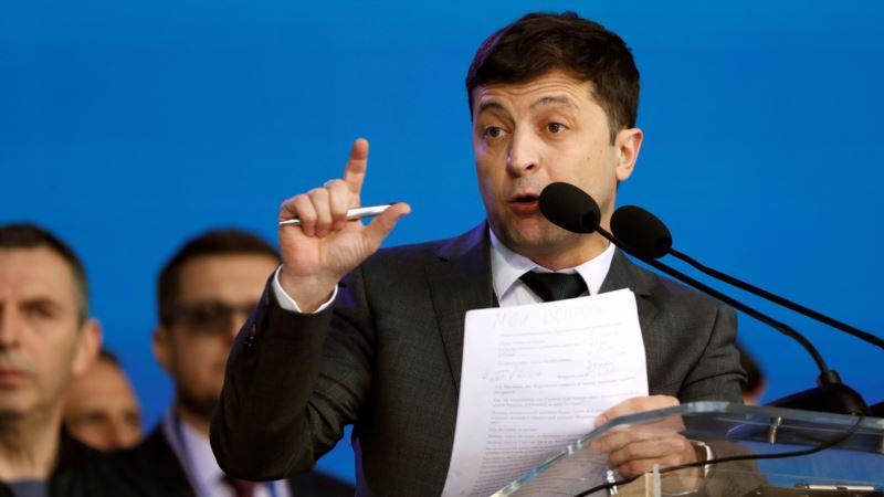 Зеленский объяснил, почему показал свой бюллетень